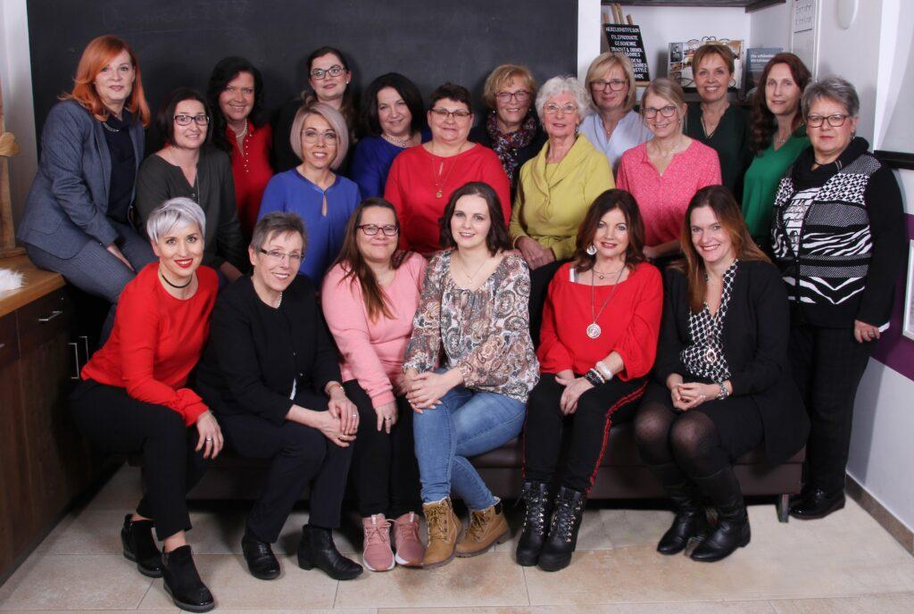 Grppenfoto der Frauenliste Wallersdorf e.V. 2020