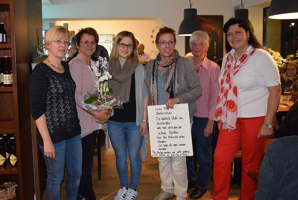 Petra Wagner verabschiedet