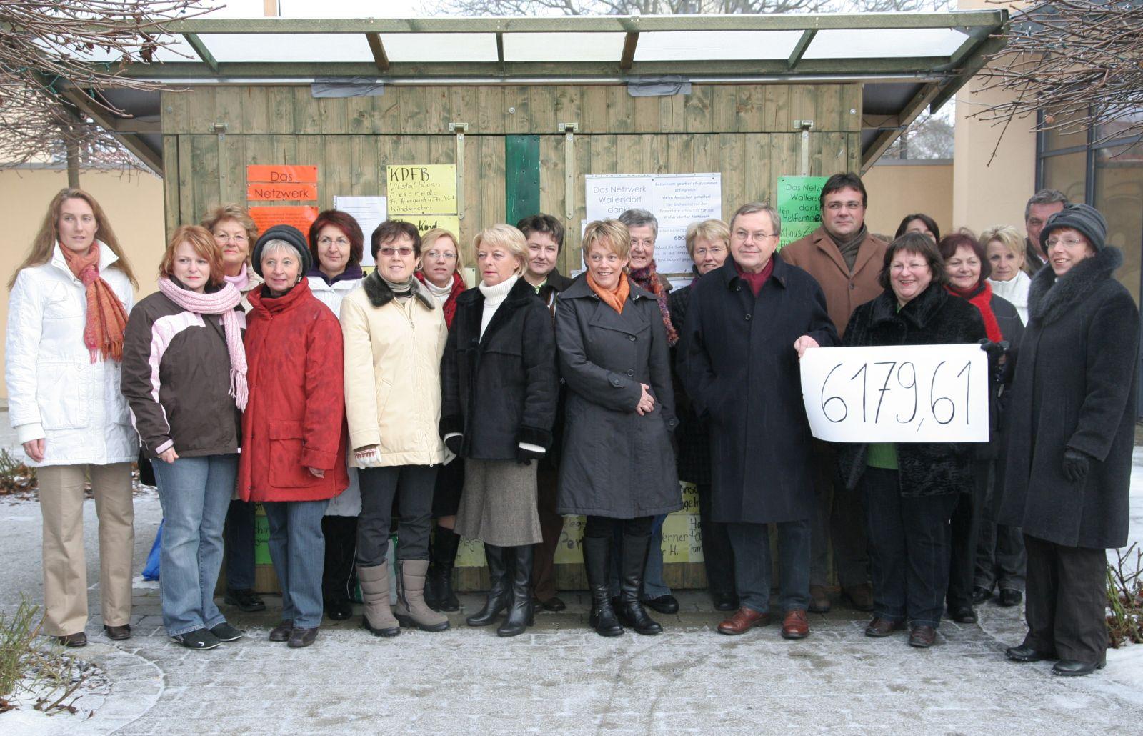 Read more about the article 6179,61 Euro für Wallersdorfer Netzwerk