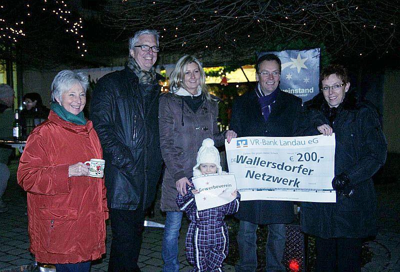 Gewerbeverein unterstütz das Wallersdorfer Netzwerk