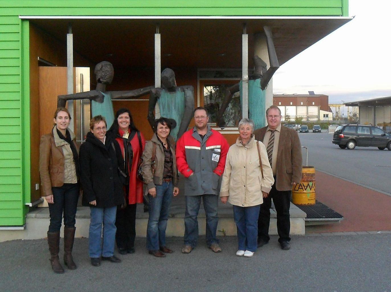 Frauenliste besucht Wertstoffhof in Straubing